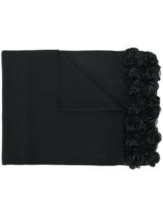 шарф с цветочной аппликацией Twin-Set