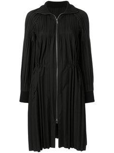 плиссированное пальто с застежкой-молнией Pleats Please By Issey Miyake