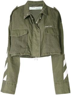 укороченная куртка Diag M65 Off-White
