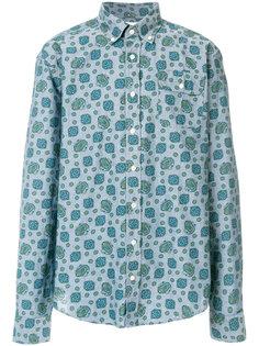 """рубашка с узором """"пейсли"""" Gant Rugger"""