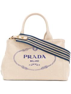 структурированная сумка-тоут  Prada