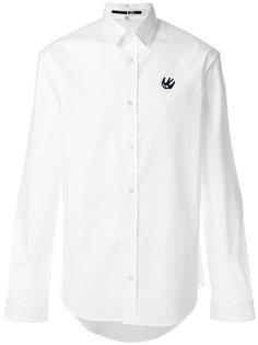рубашка с вышивкой ласточки McQ Alexander McQueen