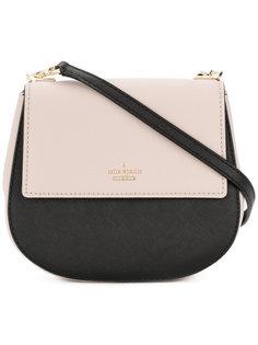 двухцветная сумка на плечо Kate Spade