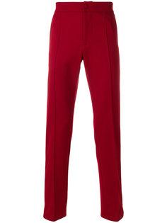 брюки кроя слим с контрастными полосками Valentino