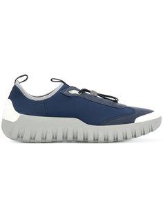 кроссовки на рифленой подошве Prada