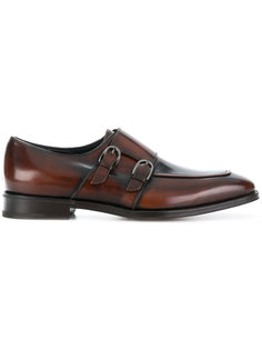 туфли-монки с пряжками Salvatore Ferragamo
