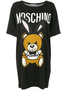 платье-футболка Playboy Teddy Bear Moschino