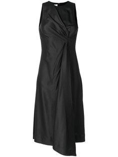 платье миди с драпировкой  Cédric Charlier