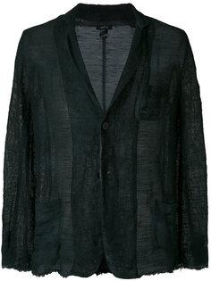 пиджак с потертой отделкой Avant Toi