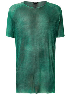 футболка с потертым эффектом Avant Toi