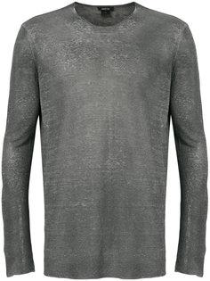прозрачная футболка с длинными рукавами Avant Toi