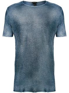 футболка с эффектом поношенности Avant Toi