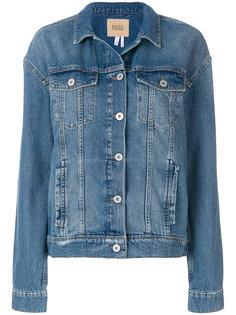 классическая джинсовая куртка  Paige
