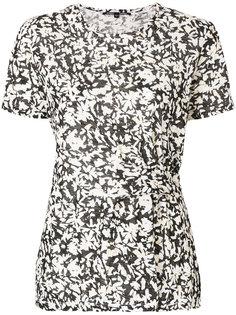 расклешенная блузка с цветочным принтом  Proenza Schouler
