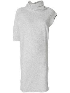 платье с асимметричными рукавами Maison Margiela