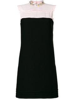 платье с рюшами Miu Miu