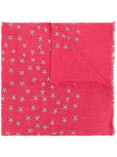 шарф с вышивкой звезд Closed