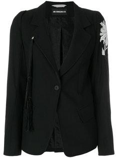 пиджак с вышивкой Ann Demeulemeester