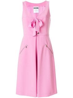 платье-бюстье с бантом  Moschino