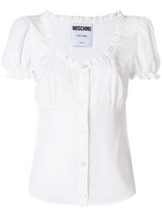блузка с оборкой  Moschino