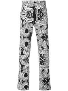 брюки с принтом Barocco Instante Versace