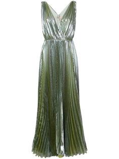платье с глубоким V-образным вырезом Reva  Maria Lucia Hohan