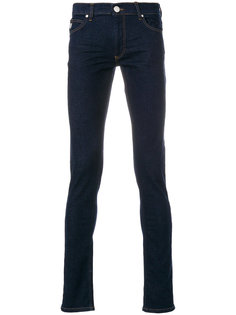 джинсы кроя слим Versace Jeans