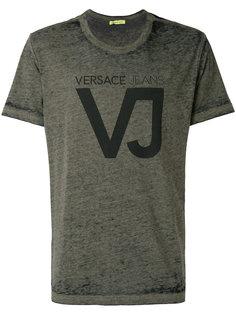 футболка с принтом VJ Versace Jeans