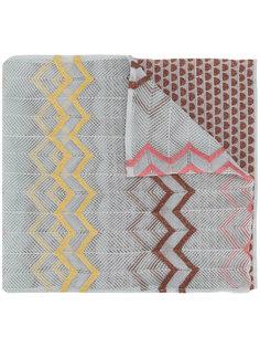 шарф с геометрическим узором M Missoni