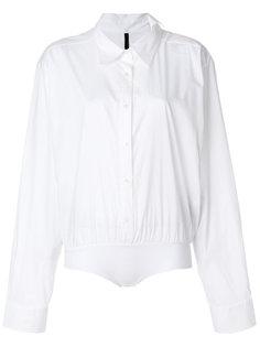 рубашка с подолом на резинке Unravel Project