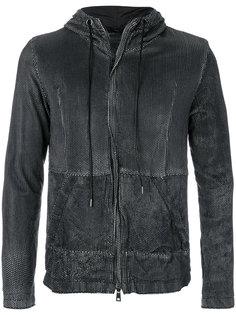 куртка с капюшоном и перфорацией  Giorgio Brato
