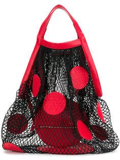 сетчатая сумка-тоут с узором в горох Maison Margiela