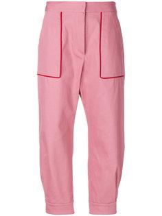 брюки с завышенной талией Miu Miu