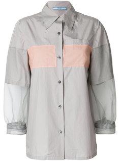 рубашка с контрастной подошвой Prada