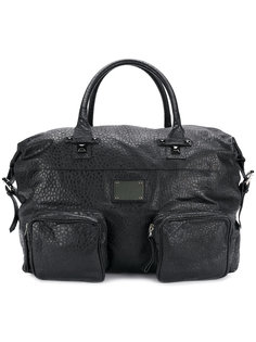 фактурная дорожная сумка Pierre Balmain