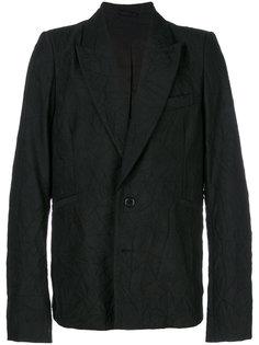 пиджак мешковатого кроя Ann Demeulemeester Blanche