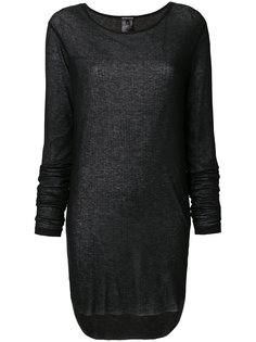 ribbed longsleeved T-shirt  Ann Demeulemeester Blanche