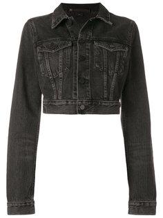 укороченная джинсовая куртка  Alexander Wang
