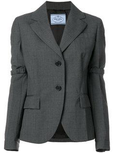 пиджак с эластичными панелями Prada