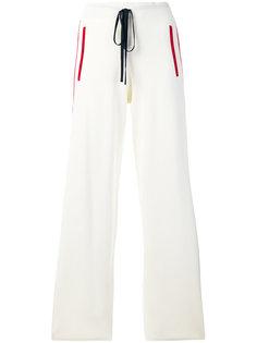 спортивные брюки с полосками по бокам P.A.R.O.S.H.