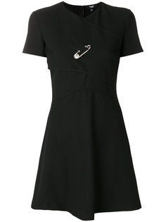 мини-платье с отделкой булавкой Versus