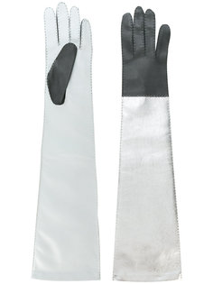 long colour block gloves Manokhi