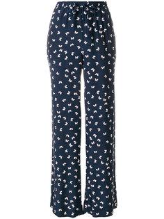 брюки с принтом бабочек P.A.R.O.S.H.