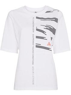 футболка с панельным дизайном ACG Nike