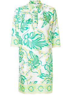 платье с цветочным принтом P.A.R.O.S.H.