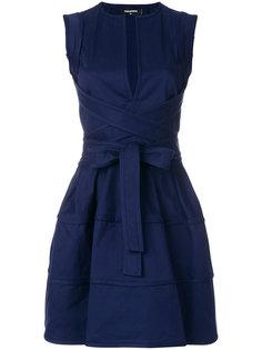 платье мини с запахом  Dsquared2