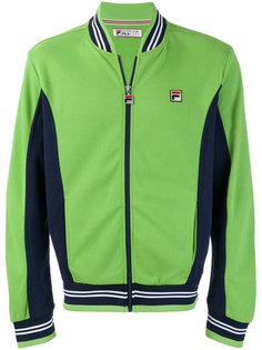 спортивная куртка с вышивкой логотипа Fila