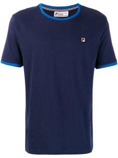 футболка с вышивкой логотипа Fila