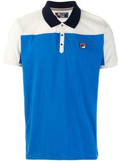 футболка-поло дизайна колор-блок Fila