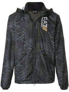 graphic sports jacket Ea7 Emporio Armani